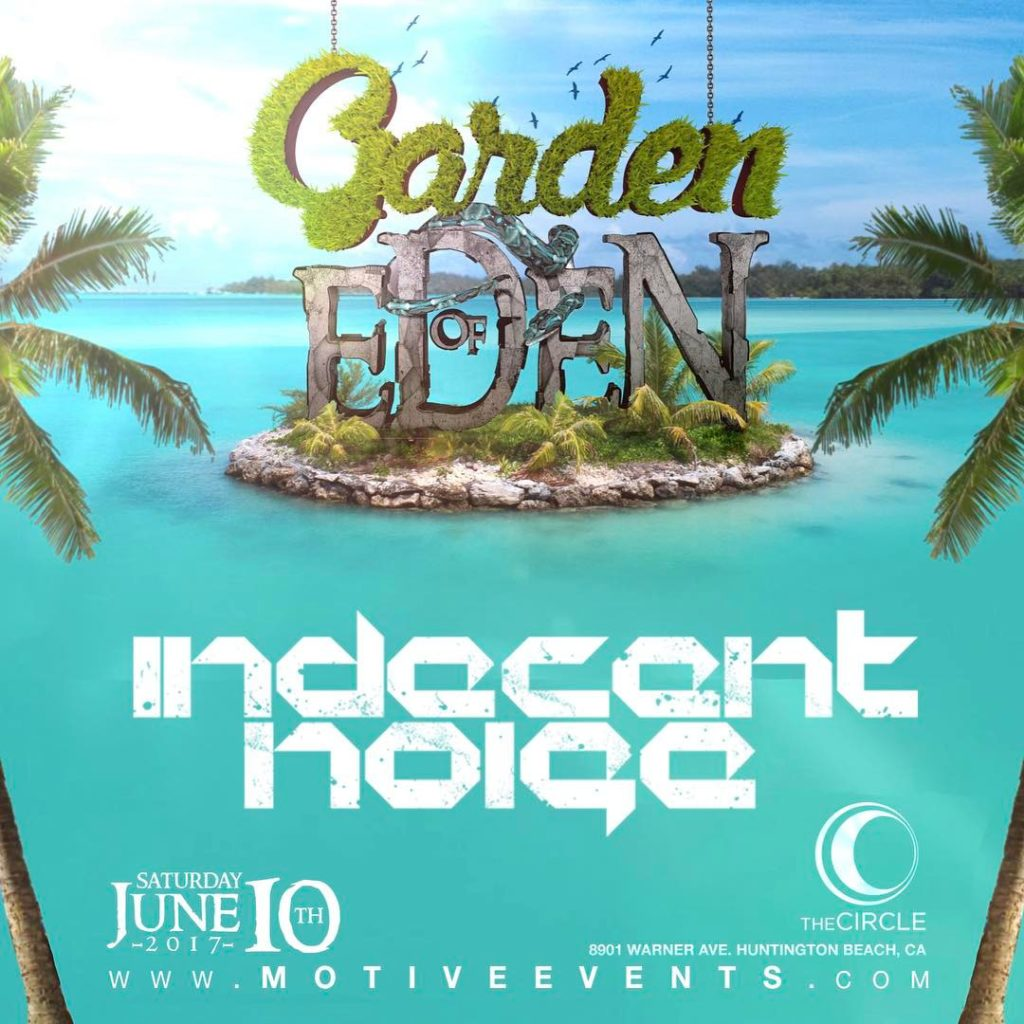 indecentnoise takes the stage at The Garden of Eden Saturdayhellip