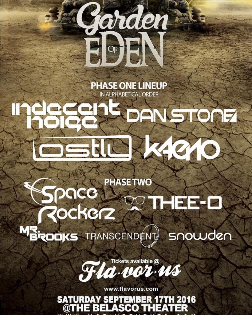 Garden Of Eden is 3 days away and counting! Gethellip