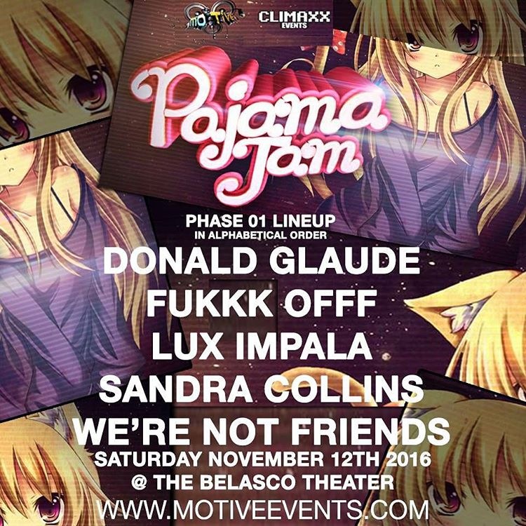 Less than a month until we RAGE at Pajama Jam!hellip