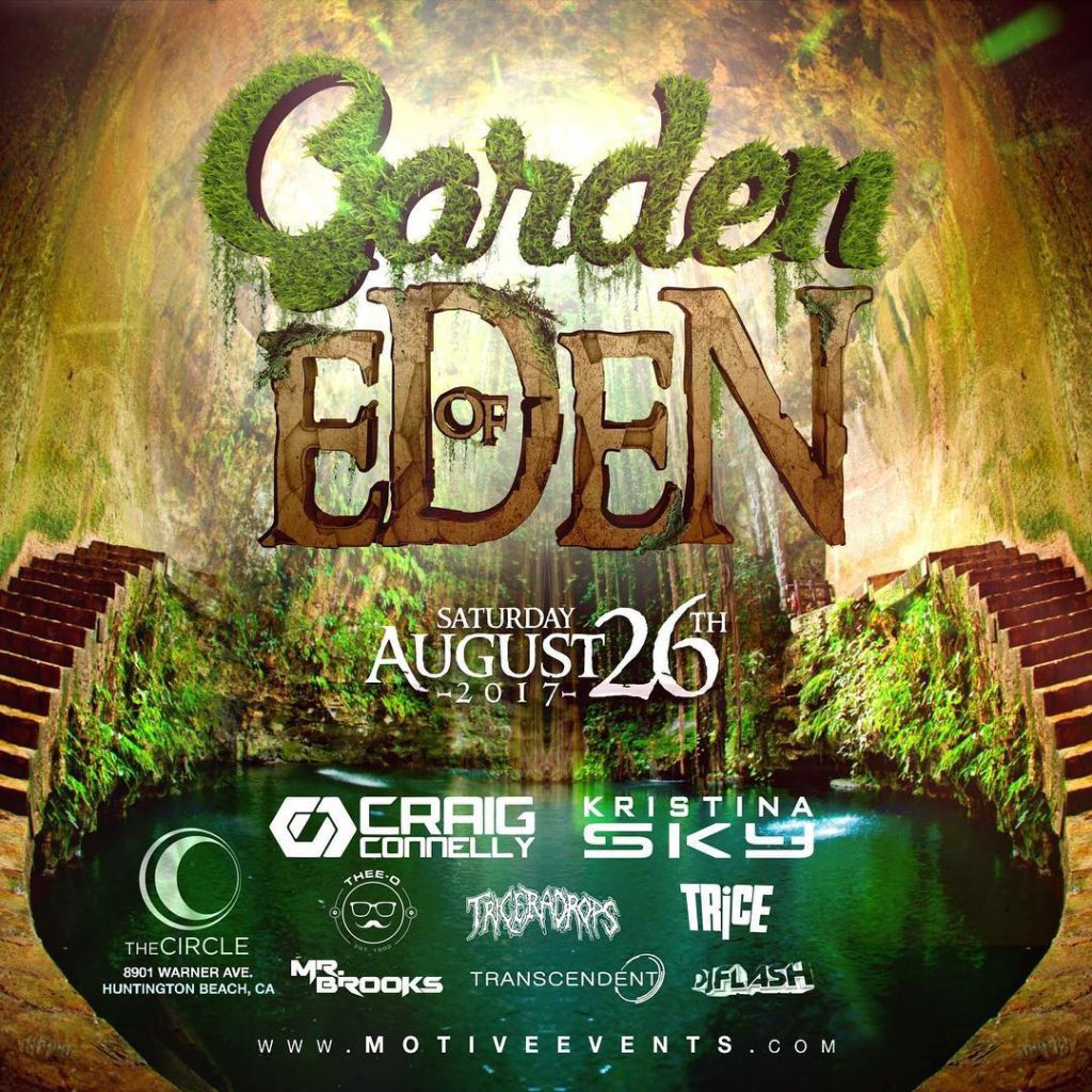 Garden Of Eden is back with some amazing Trance includinghellip