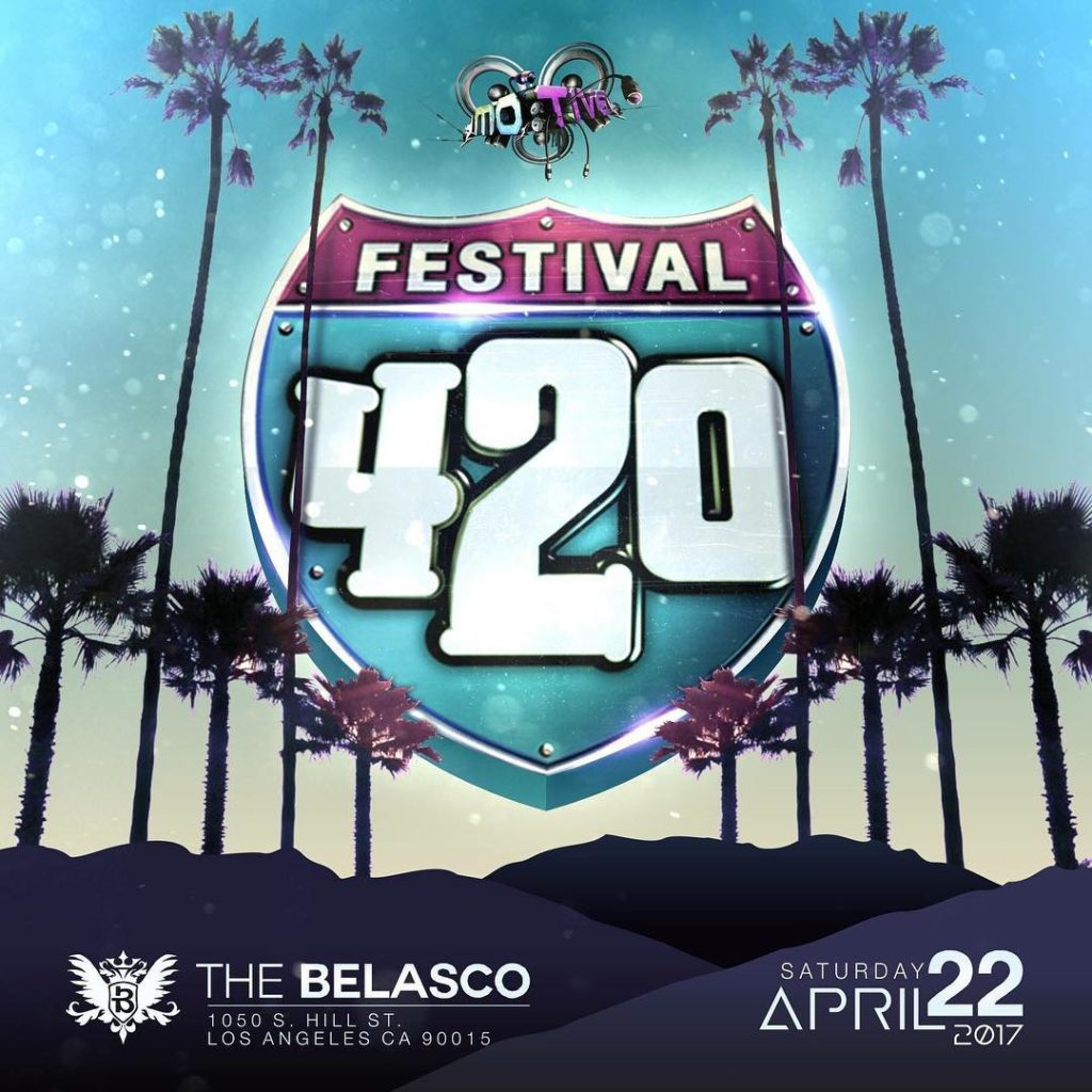 Motive Events brings you 420 Festival Saturday April 22nd athellip