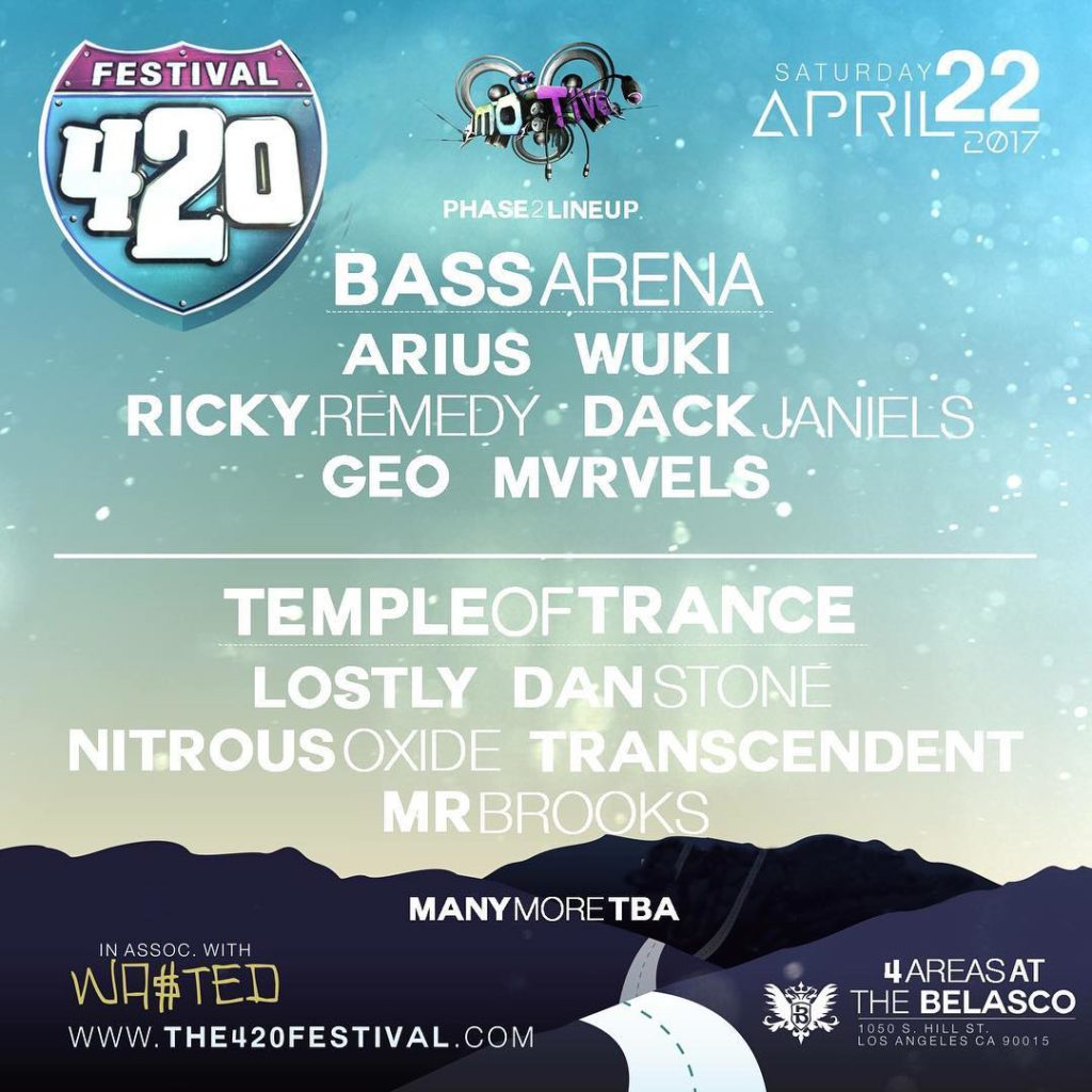 420 Festival is tomorrow!!! Get ready to party! WwwThe420Festivalcom