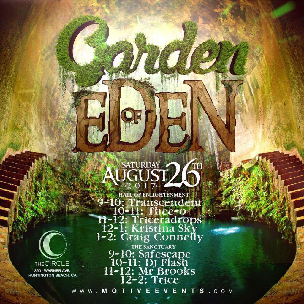 Here are the timeslots for garden of Eden tomorrow nighthellip
